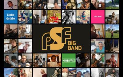 Die PSF Big Band im Homeoffice