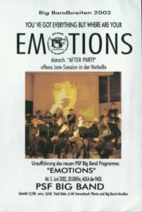 2002: Emotions